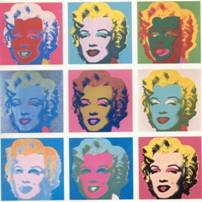 pop art - marilin