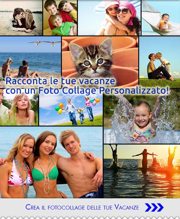 Il tuo foto-collage personalizzato per l'estate'