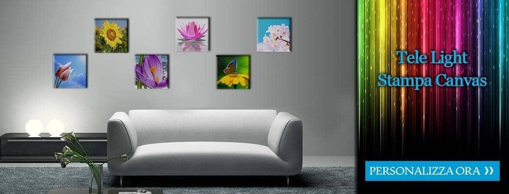 tele light stampa canvas